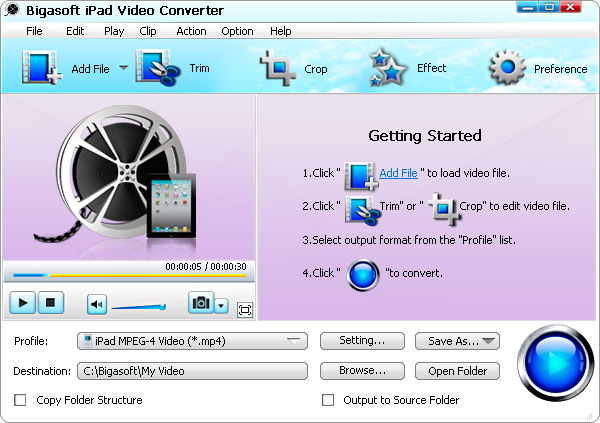 1080p/720p MKV to iPad Converter