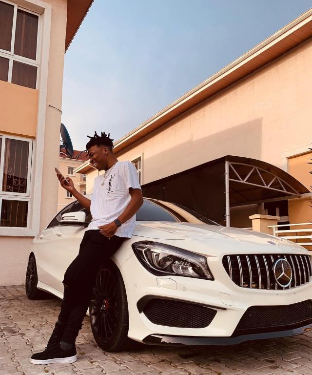 Mayorkun Acquires A Brand New Mercedes-Benz CLA-Class