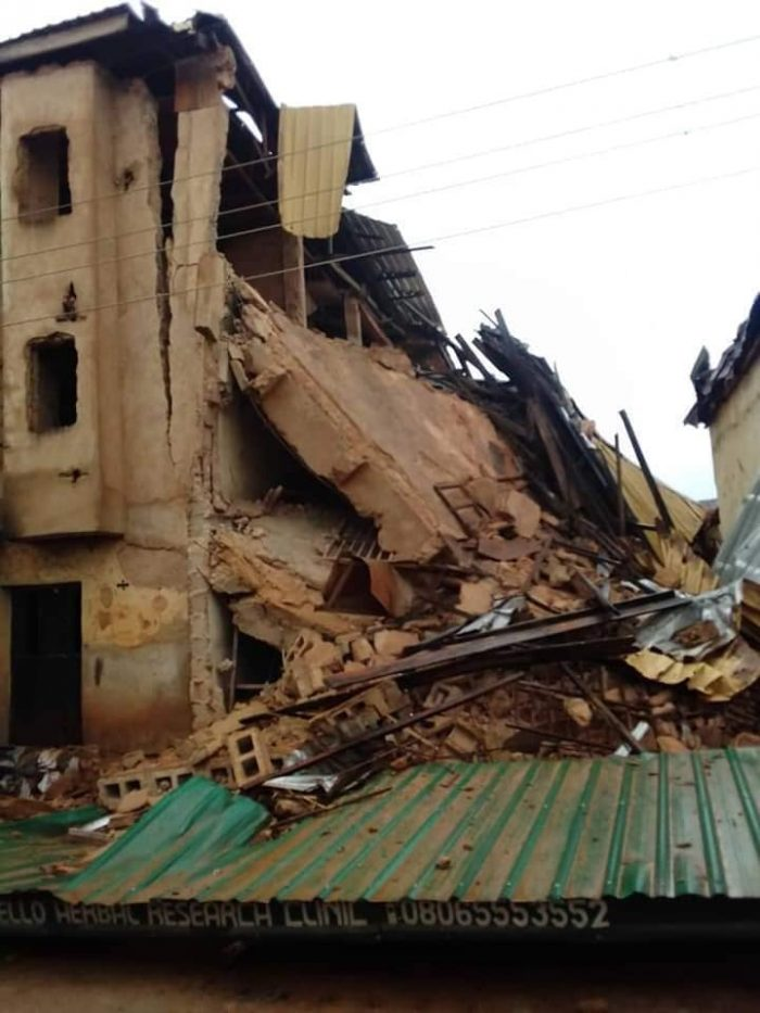 Many Dead As Three-Storey Building Collapse In Jos (Photos)