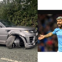Manchester City Striker Aguero Involved In A Car Accident