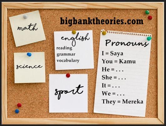 Penjelasan Tentang Pronoun Dan Penggunaannya Dalam Kalimat Bahasa Inggris