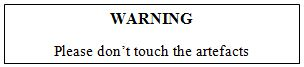 Soal Reading - Text Warning