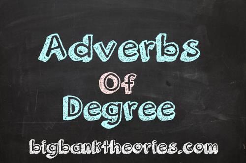 Contoh Kalimat Adverbs Of Degree