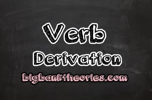 Contoh Verb Derivation