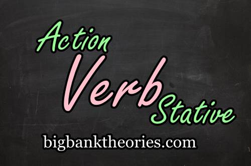Contoh Kalimat Action Dan Stative Verb
