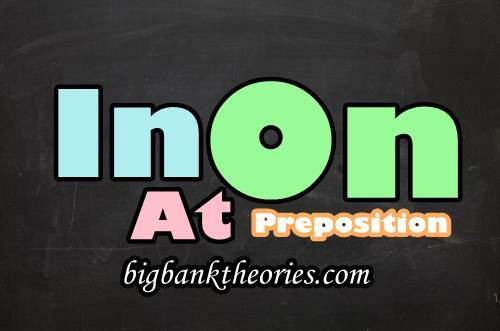 Contoh Kalimat Preposition In On At