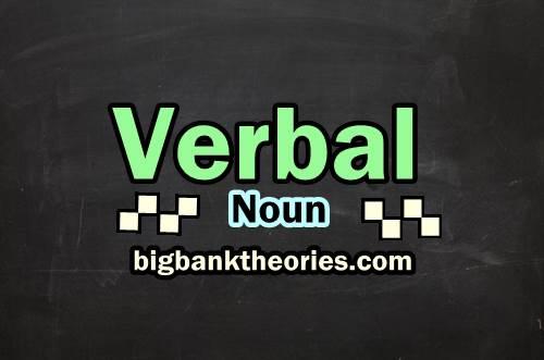 Verbal Noun List