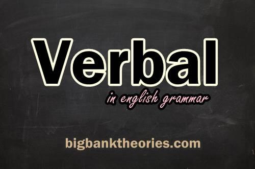 Pengertian Verbal