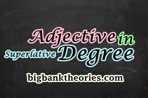 Contoh Kalimat Superlative Degree