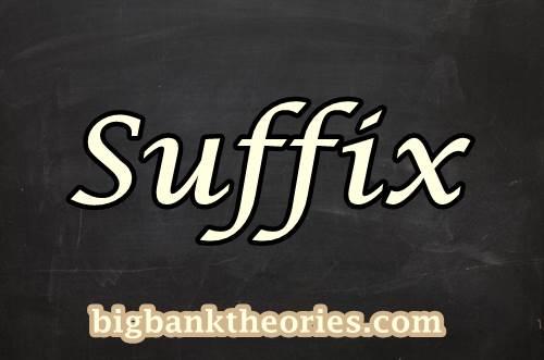 Kumpulan Contoh Suffix