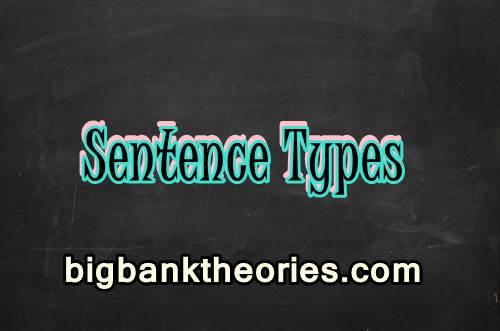 Contoh Sentence Types