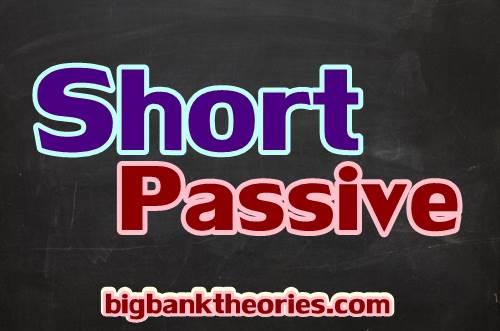 Contoh Short Passive
