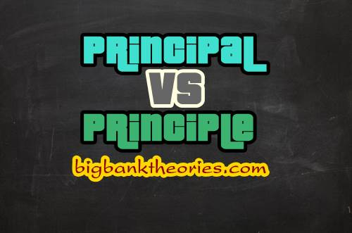 Arti Kata Principal Dan Principle