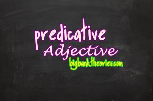 Contoh Predicate Adjective