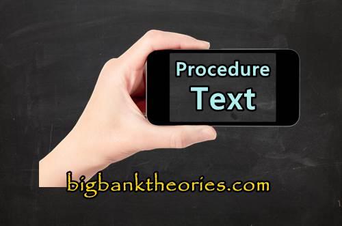 Contoh Teks Prosedur Bahasa Inggris Tentang Pengoprasian Handphone