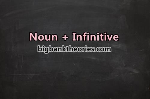 Kalimat Yang Mengandung Pola Noun + Infinitive