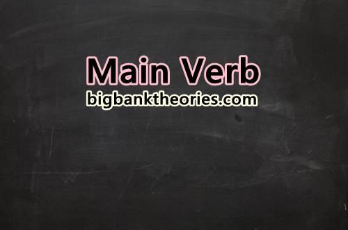 Contoh Dan Jenis Main Verb Dalam Bahasa Inggris