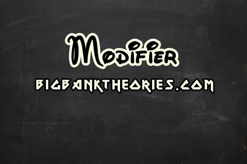 Contoh Penggunaan Modifier Dalam Kalimat