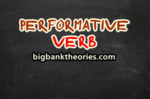 Contoh Performative Verb