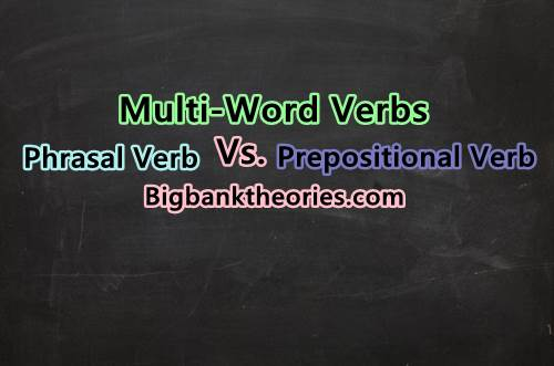 Multi-Word Verbs