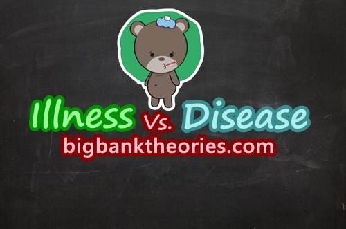 Illness vs Disease