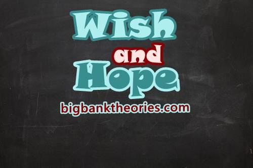 Perbedaan Wish Dan Hope Dalam Bahasa Inggris