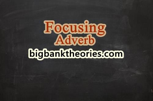 Pengertian Dan Contoh Focusing Adverb Dalam Bahasa Inggris