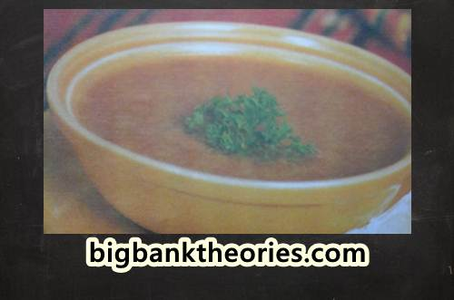 Resep Makhlouta Soup Dalam Bahasa Inggris