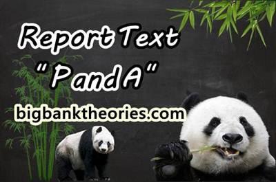Report Text Bahasa Inggris Tentang Panda
