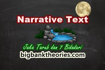 Contoh Narrative Text Tentang Jaka Tarub Dan 7 Bidadari