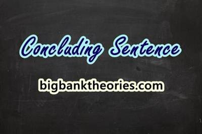Pengertian Concluding Sentence Dan Contohnya