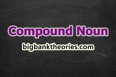 Compound Noun In English