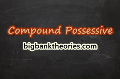 Compound Possessive In English