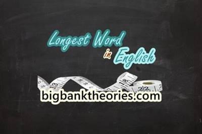 Longest Words in English