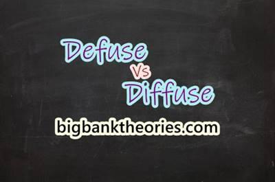 Defuse vs Diffuse Serta Contoh Penggunaannya Dalam Kalimat