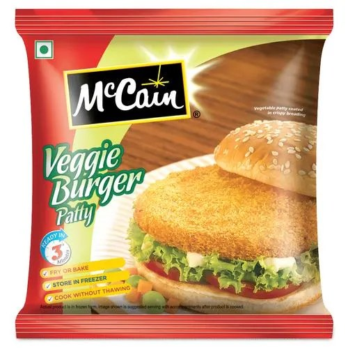 mccain veggie burger patty 360 g pouch