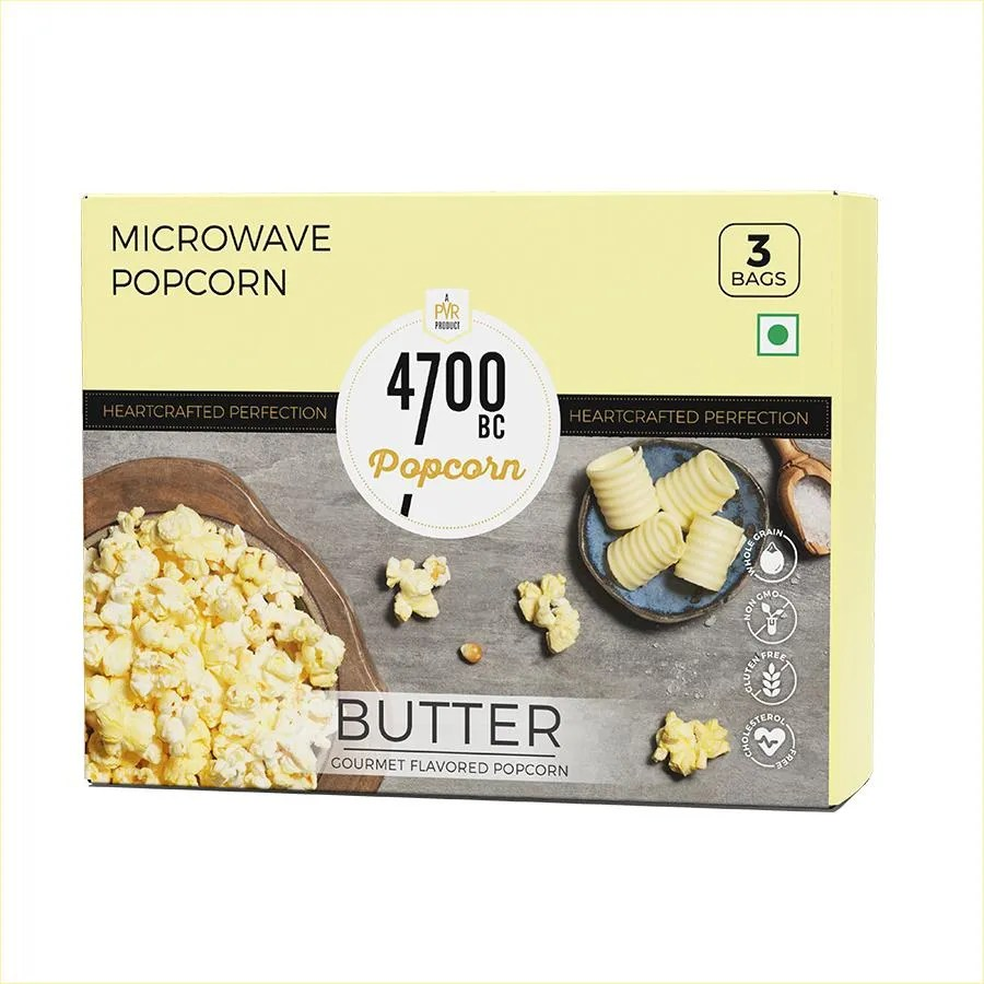 4700bc microwave popcorn butter 255 g pack of 3