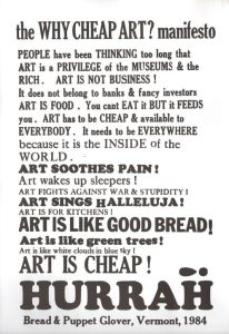 Why Cheap Art?