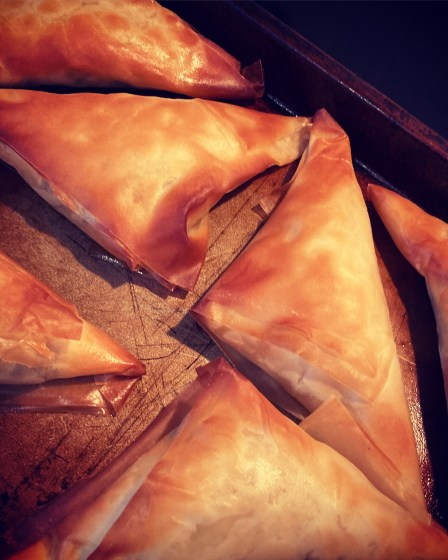 Spicy Smoked Mackerel Parcels