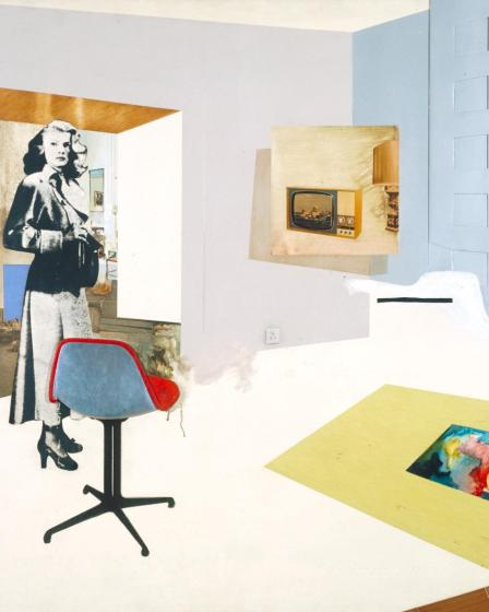 Interior II 1964 Richard Hamilton 1922-2011 Purchased 1967 http://www.tate.org.uk/art/work/T00912