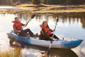 Kayaking in Big Bear Lake