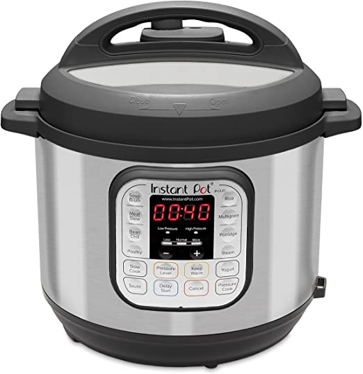 6 Quart Instant Pot Duo 7-in-1 Electric Pressure Cooker