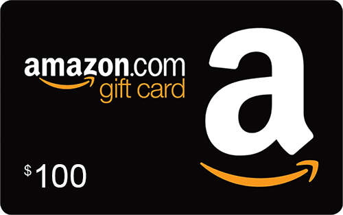ONE (1) $100 Amazon gift card