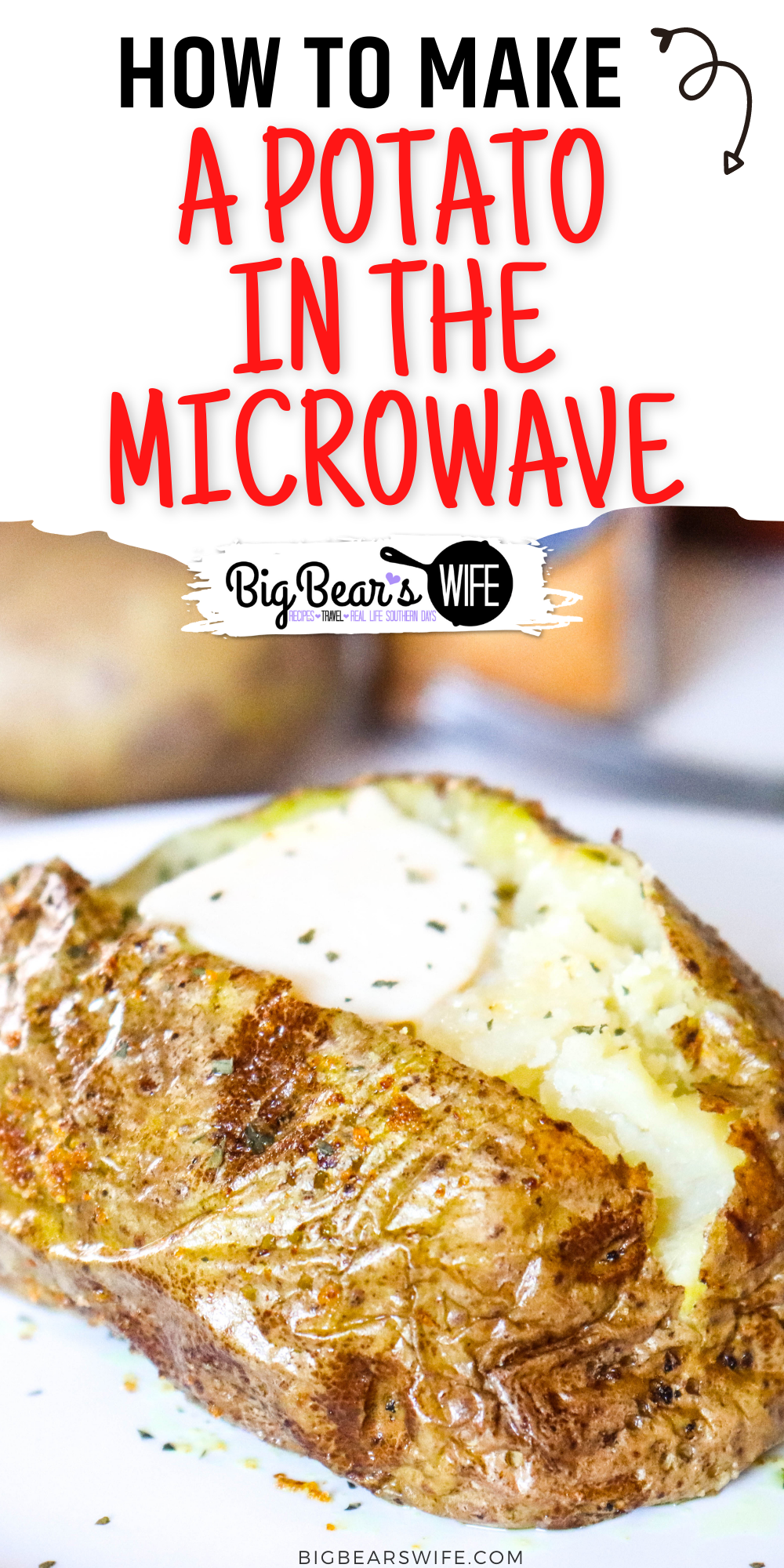 how to cook a potato in the microwave