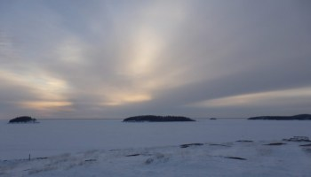 Entering the Northwest Territories of Canada: Fort Chipewyan