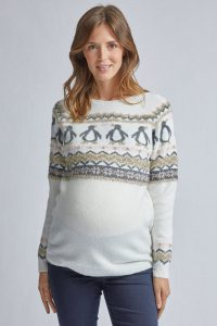 Fairisle Penguin Motif Jumper