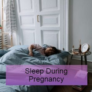 a woman with dwarfism is asleep in bed - research and guidelines on sleep in pregnancy