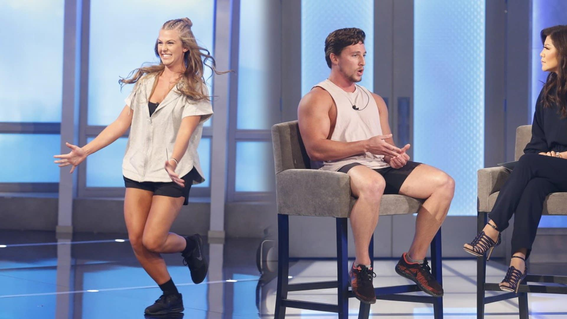 Haleigh Broucher and Brett Robinson out in Big Brother