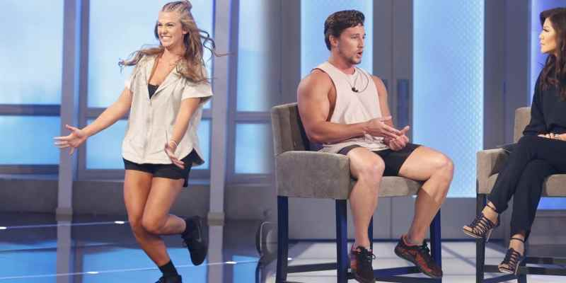 Haleigh Broucher and Brett Robinson out in Big Brother double