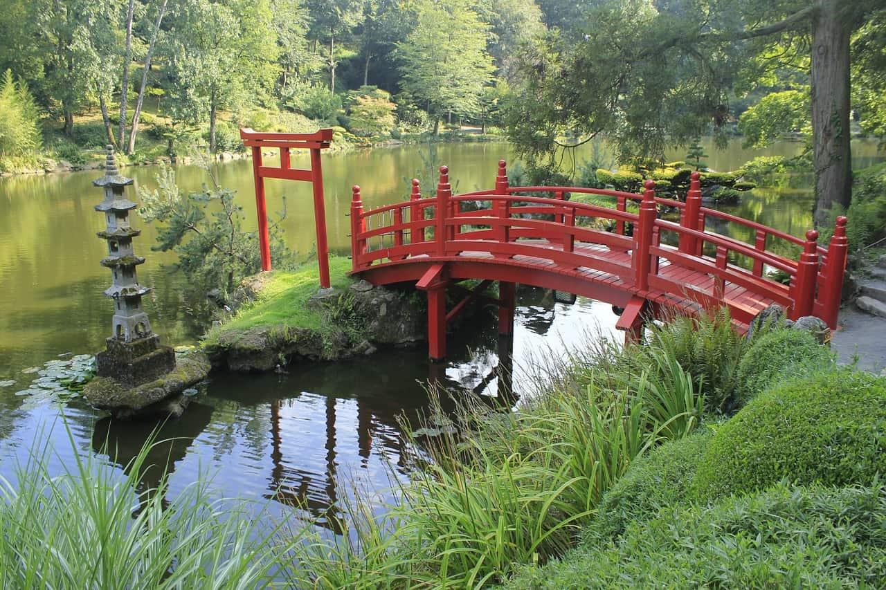 Charmant The Significance Of Bridges In Japanese Gardening ⋆ Big Blog Of Gardening